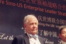 Jim Rogers at Economic Conference & Art for Peace 2010 World Expo 9/21 World Peace Day